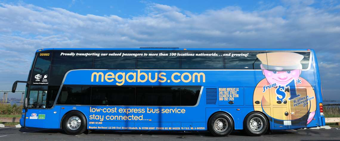 Megabus Low Cost Bus Tickets From 1