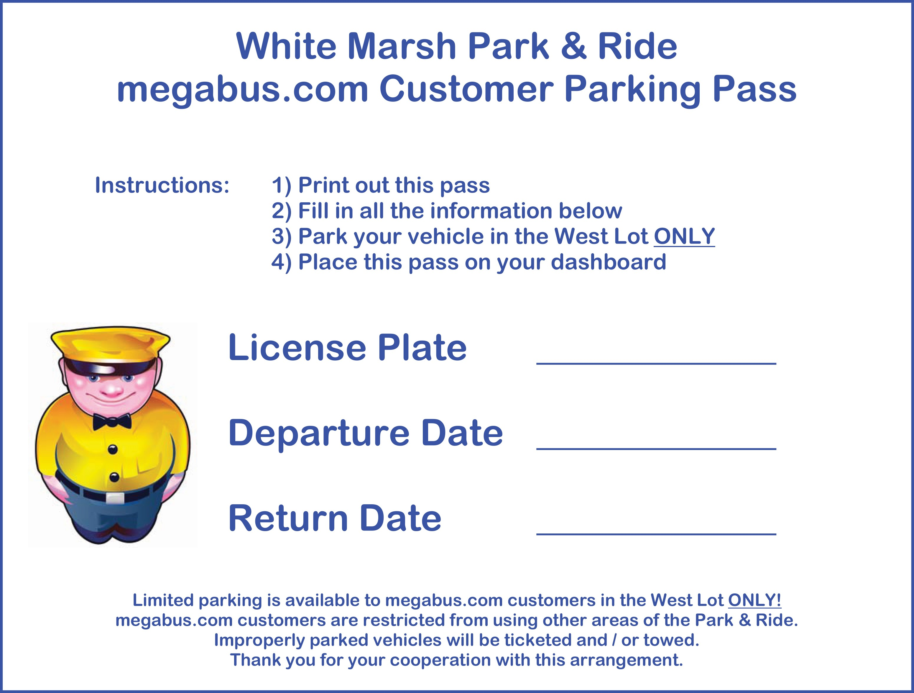 It is a graphic of Printable Parking Pass with regard to parking placard