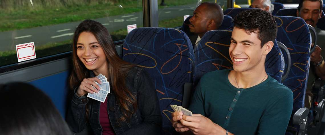 Bus Tickets and Services Onboard
