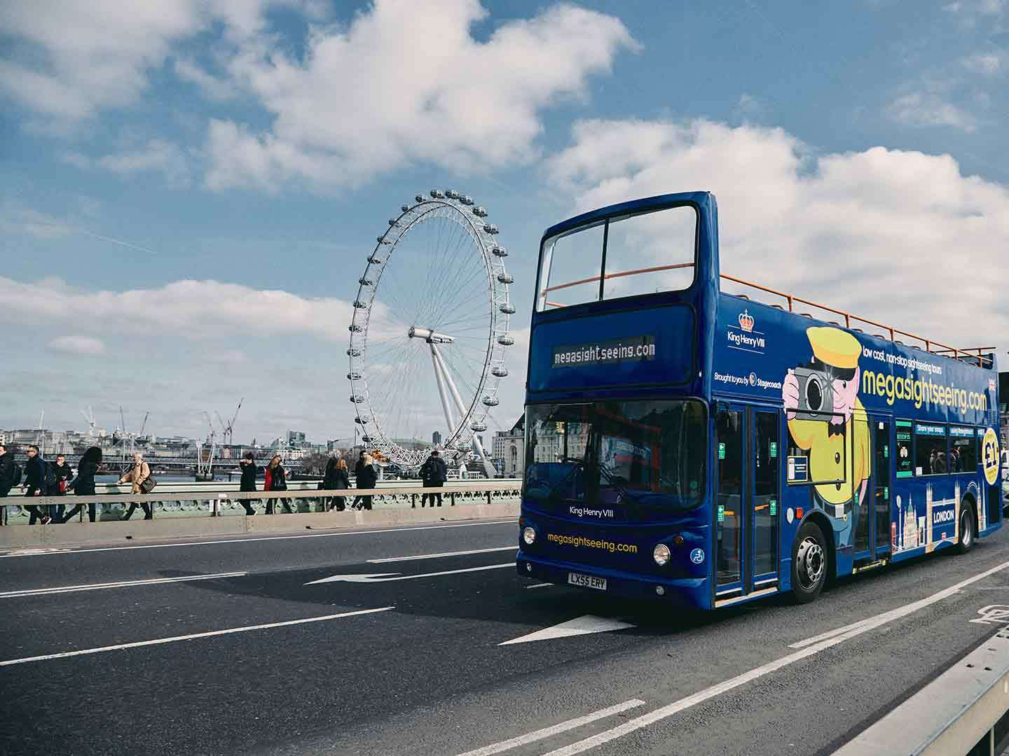 The new London bus tour from megabus.com UK