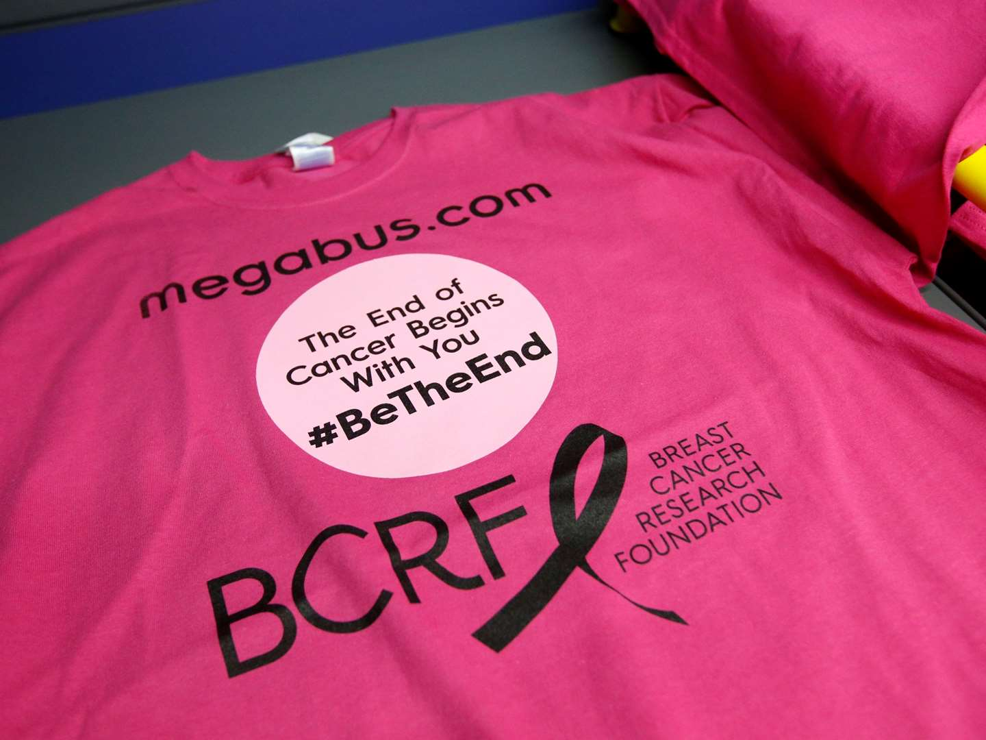 Megabus announces Breast Cancer Awareness Month Contest in support of BCRF